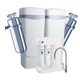 Умягчитель Аквафор WaterMax AKQ  + Викинг 2 шт. + Морион + Соль 2 мешка